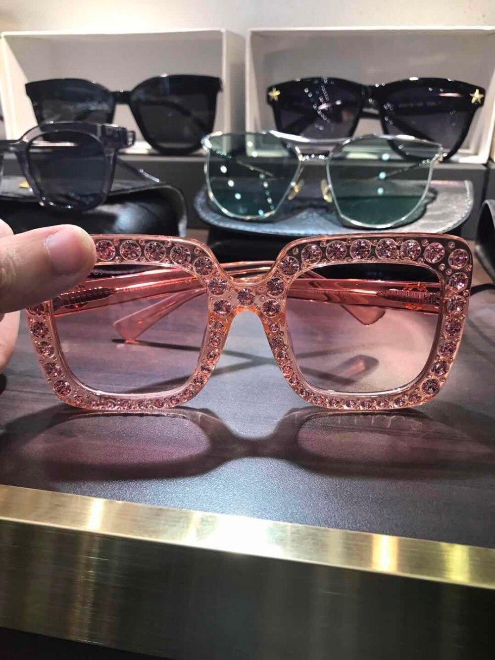 WD0648 2018 luxury Runway sunglasses women brand designer sun glasses for women Carter glasses