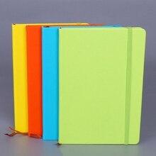 Яркие цвета, А5, ПУ покрытие, сменный блокнот, креативный бандаж, записная книжка, планировщик, органайзер, личный дневник, ежедневная заметка, подарок