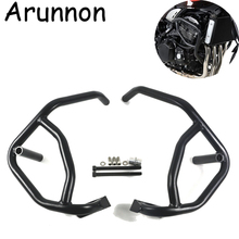 Arunnon Crash Bar Engine Highway Bumper Guard Frame Sliders Protector Damaged Accessories for 2018 Kawasaki Z900RS