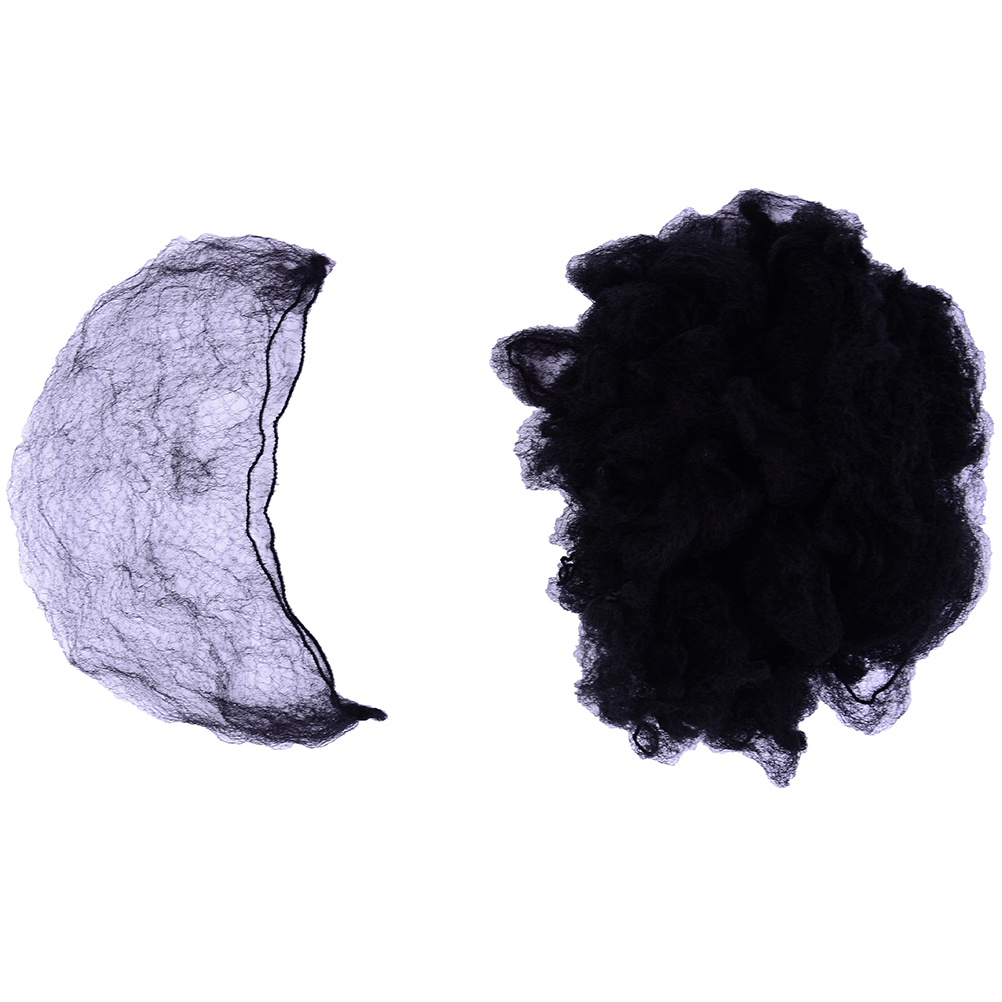 Hair Extensions & Wigs Tools & Accessories 20pcs/ 3pcs Invisible Hair Nets For Package Hair And Wig Cap New Elastic Nylon Hairnets Black Brown