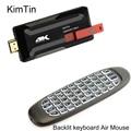 MK809IV Pro RK3229 Quad Core Android 5.1 Smart TV Stcik 2GB 8GB WiFi 3D 4K H.265 Bluetooth TV Dongle W/ C120 Backlit Keyboard
