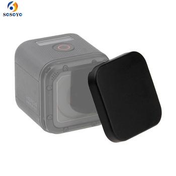 Osłona obiektywu odporna na zarysowania osłona obiektywu pokrowiec na GoPro Hero 5 sesja 4 sesja akcesoria do kamer sportowych tanie i dobre opinie SOSOYO GP0142 Przypadku Pakiet 1