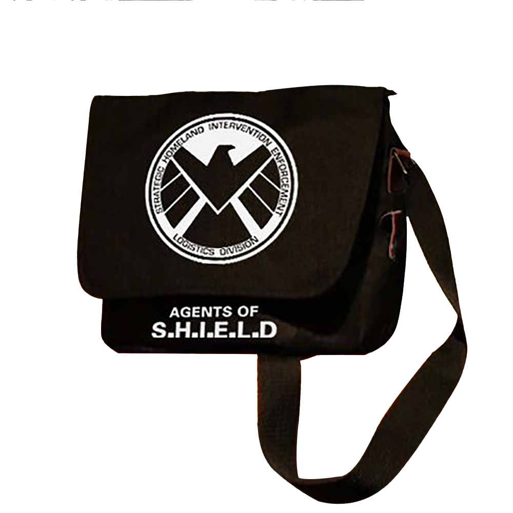 Zshop Avengers Scudo Agente Marvel Shield Messaggero del Sacchetto di Spalla Satchel Superhero Fashion Crossbody borse