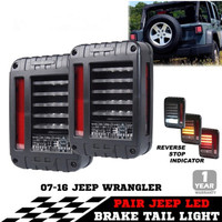 1 Pair 12V 24V LED JK Tail Light 6 X 8 JK LED Tail Light For