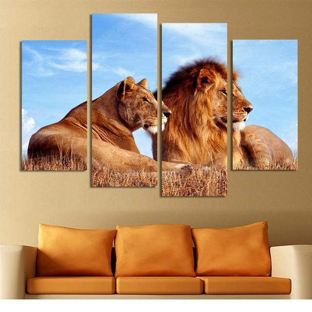 len rey del arte de la lona pinturas abstractas sobre lienzo de pared cuadros para la