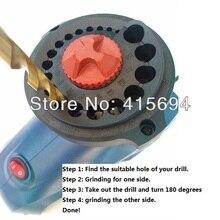 Elektrische Bohrer Spitzer, Bohrer Schleifmaschine, schleifen bohrer spitzer, drill sharpener für Anfänger.