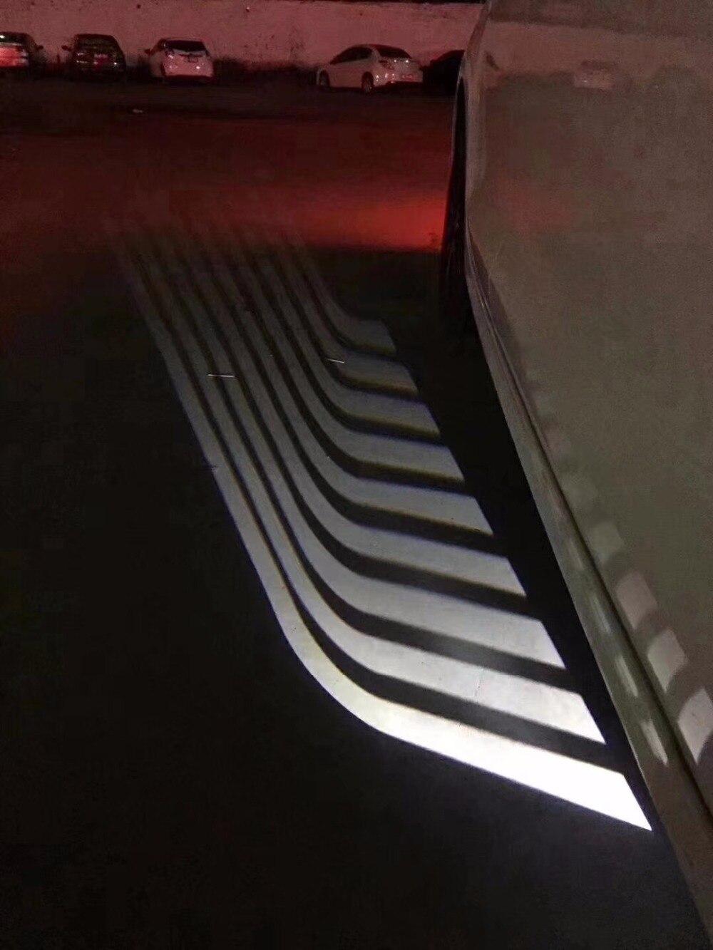 EOsuns светодиодные лампы Добро пожаловать заземления свет для Toyota FJ Cruiser Granvia Hiace SBV Highlander Hilux Surf Kluger Land Cruiser