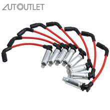 AUTOUTLET 8 Pcs High Performance Spark Plug Wires Ignition Wire For CHEVY GMC Set 1999-2006 Chevy