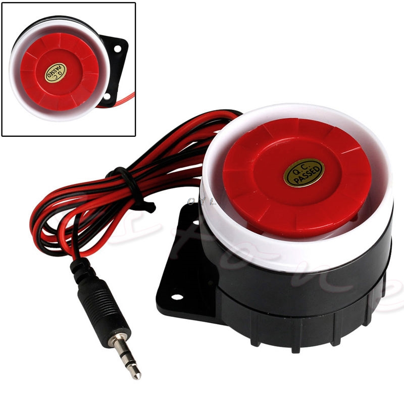 New Wired Mini Horn Siren Home Security Sound Alarm System 120dB DC 12V
