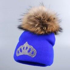 ᑐ0 a 2 anos de idade do bebê de malha chapéu do inverno cap menina ... d116d967839