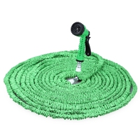 175FT Lightweight Expandable Garden Hose Pipe with 7 in 1 Spray Gun House Drip Irrigation Tools for Watering Flowers Vegetab