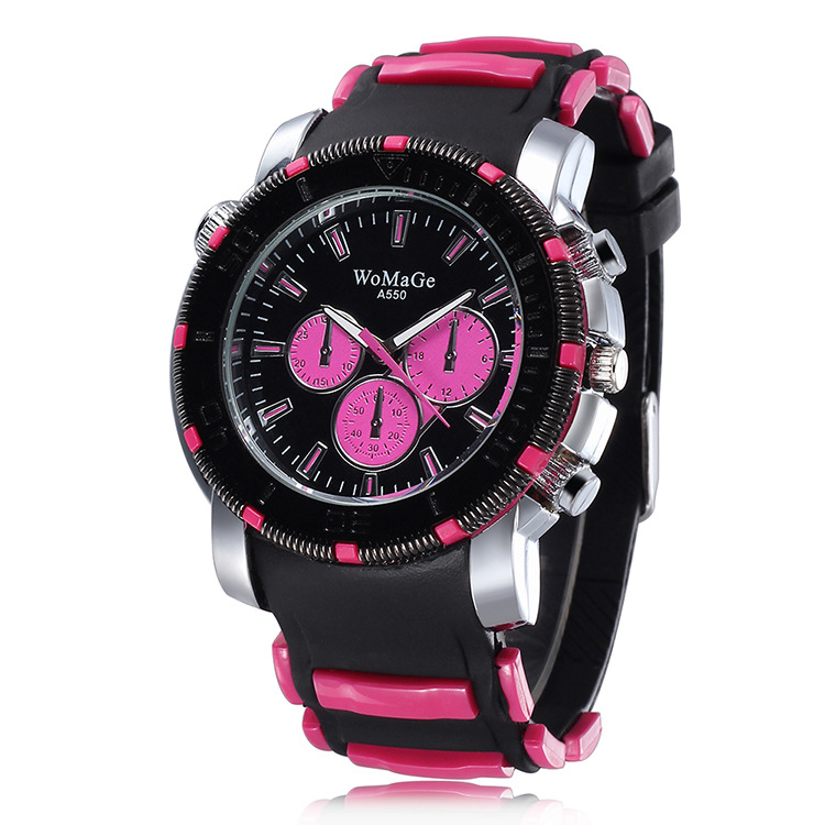 2018 Fashion Sports Watches Silicone Strap Available for Lad