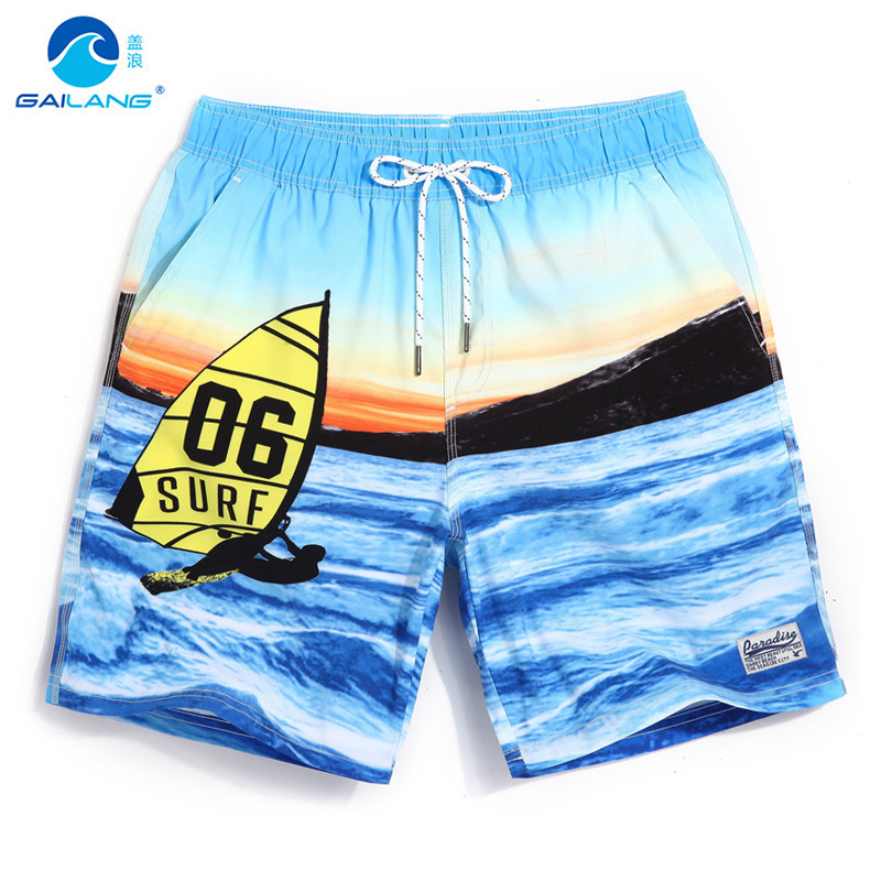 Gailang Men's Beach   Shorts   Swimming Suit Smelting Swimming Trunks   Board     Shorts   Mans Sportswear Bathing   Shorts   GMA720