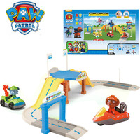 Paw Patrol Dogs New Puppy Track Car Toy Set Action Figures Patrulla Canina Juguetes Anime Figure Toy Kids Gifts For Boy