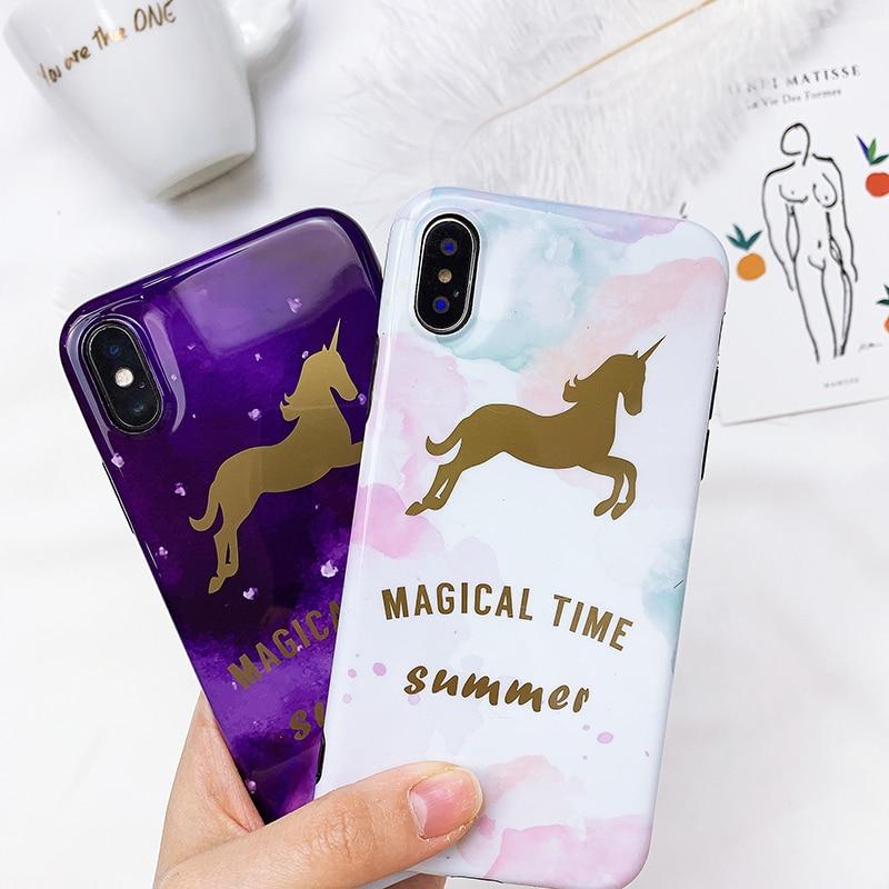Dreamy Unicorn Phone Case for iPhone