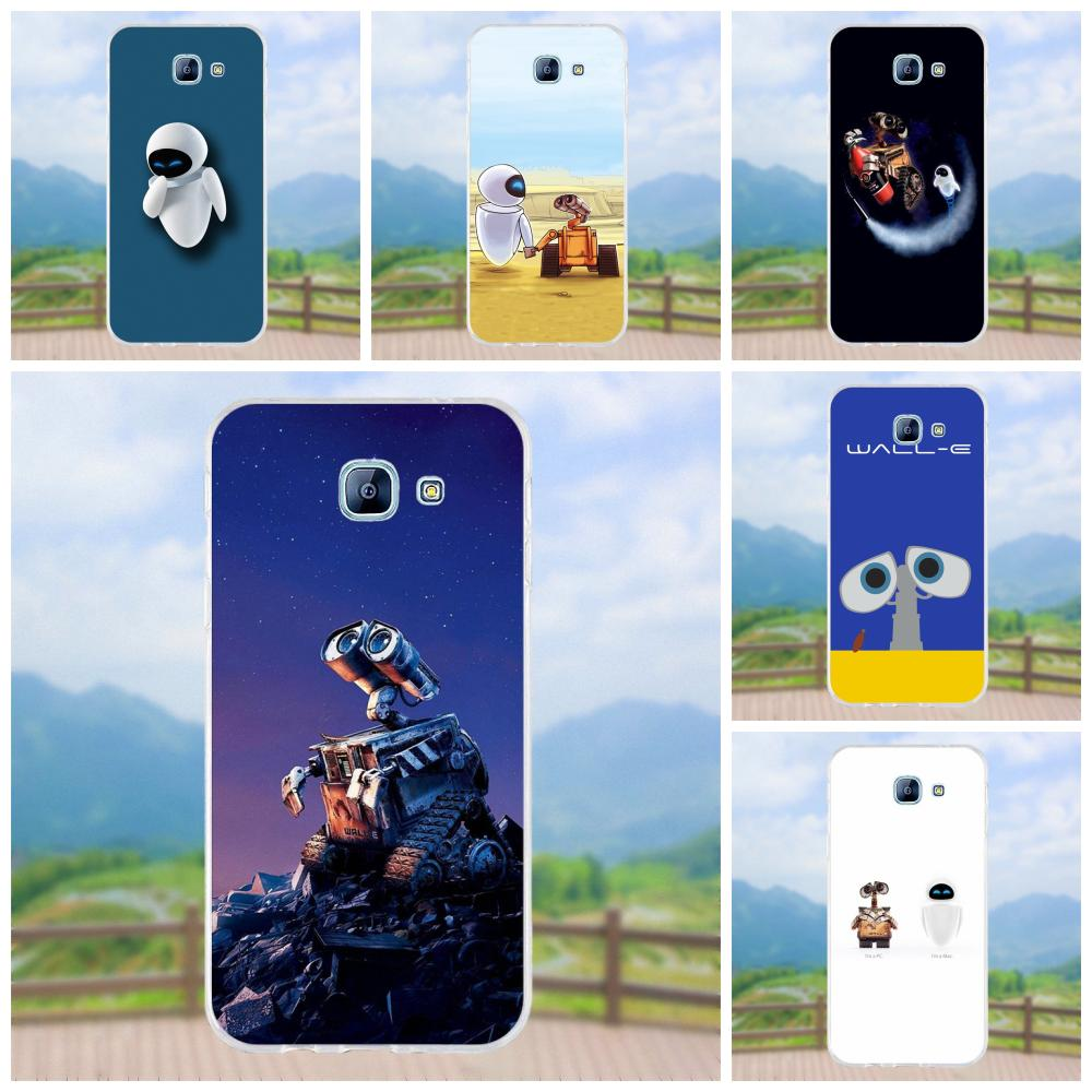 For Samsung Galaxy A3 A5 A7 J1 J2 J3 J5 J7 2015 2016 2017 Soft Silicone TPU Transparent Design Customized Buy Cool Wall-e Robot image