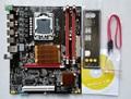 Новый оригинальный материнская плата X58 LGA1366 DDR3 ECC REG USB3.0 L5520 CPU mainboard для X5570 X5650 W5590 X5670 Бесплатная доставка