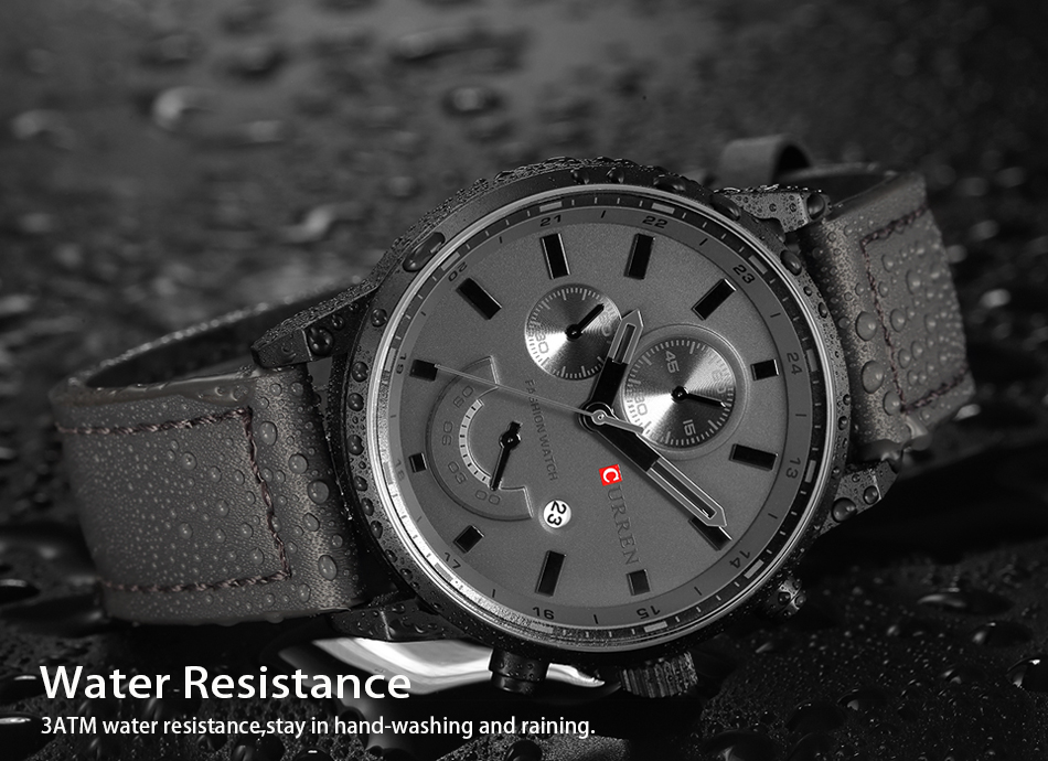 CURREN Men's Casual Sport Quartz Watch Mens Watches Top Brand Luxury Quartz-Watch Leather Military Watch Wrist Male Clock Drop HTB1ZMcVeXmWBuNjSspdq6zugXXaI