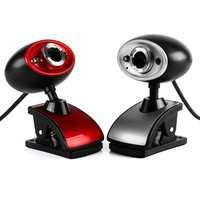 Red Silver Hd Camera 12 Mega Notebook Pc Compuer Webcam Drive Free Auto Focus For Skype