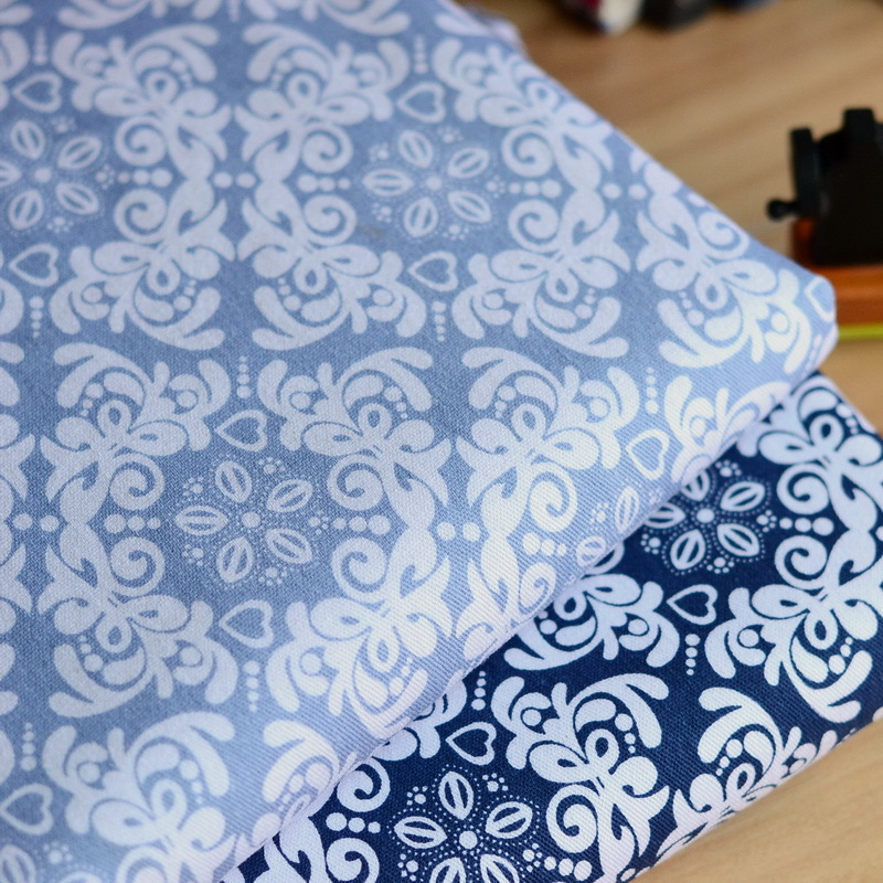 Awesome Stretch Printed Denim Fabric Cotton Clothing Fabric Table Cloth Sofa  Cushion Pillow Fabric Material DIY Handmade Cloth Wholesale