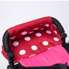 minnie micky  extend footrest new bumper with feet rest for baby sleep which can match baby throne , kissbaby stroller.