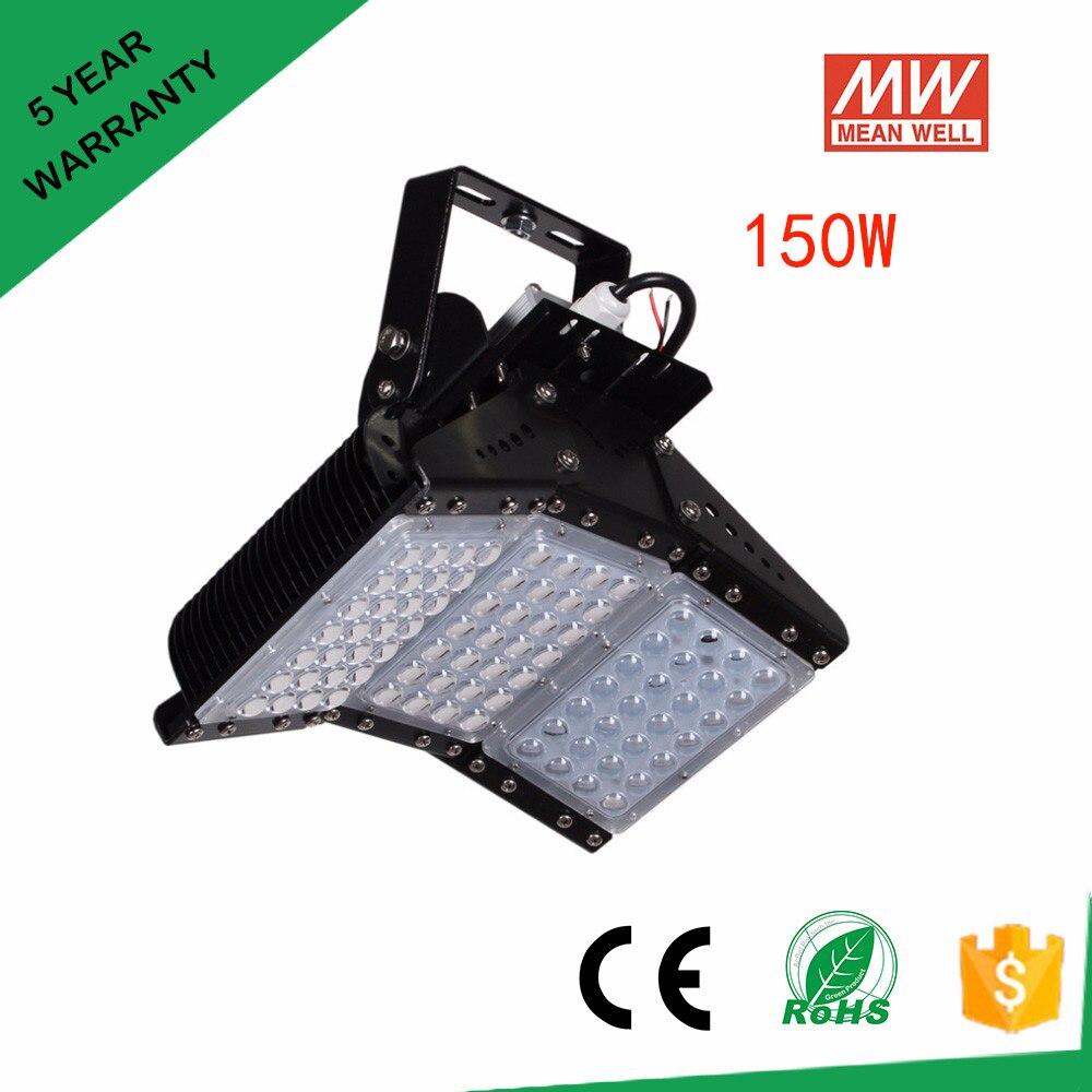 56w 112w 168w 224w 336w 500W Led Floodlights IP65 120 degree adjustable led tunnel light 85-277v meanwell driver Free Shipping