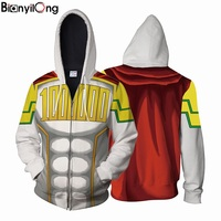 2018 New Pullovers MAN WOMEN Sweatshirts Hooded My Hero Acaddemia Fashion Tracksuits MEN S Streetwear 3D