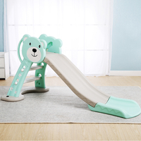 Infant Shining Baby Toy Slide Lengthened and Thickening Kid Room Play Game Toys Can be Folded Indoor Children Park for 1 6Y