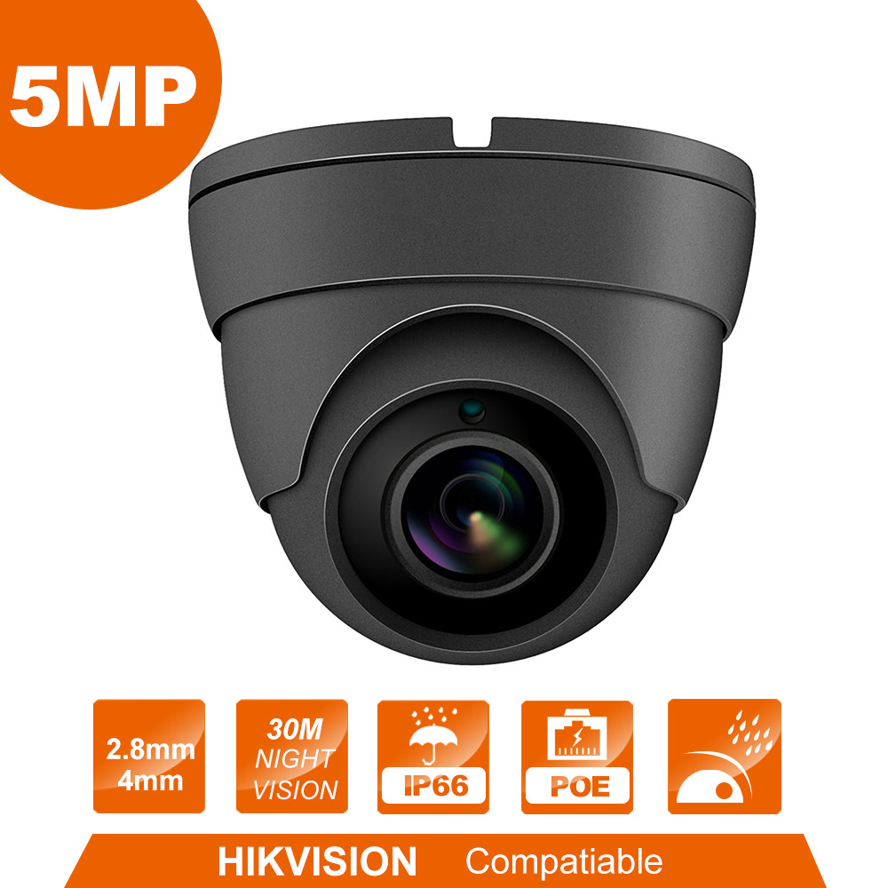 5MP HD IP camera Cheap price  High Quality Security Dome Camera 2.8mm Lens  Surveillance webcam-in Surveillance Cameras from Security & Protection