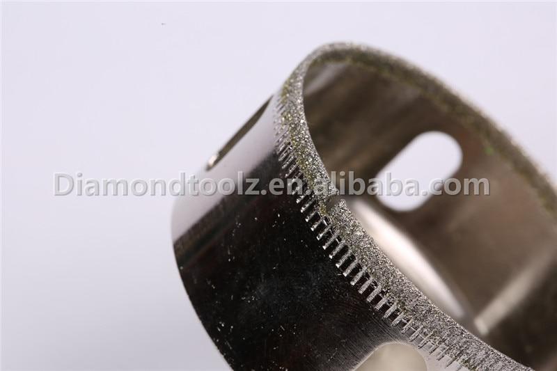 10 sztuk 6mm-52mm Diamentowa wiertło do szkła Wiercenie otworów w - Wiertło - Zdjęcie 2