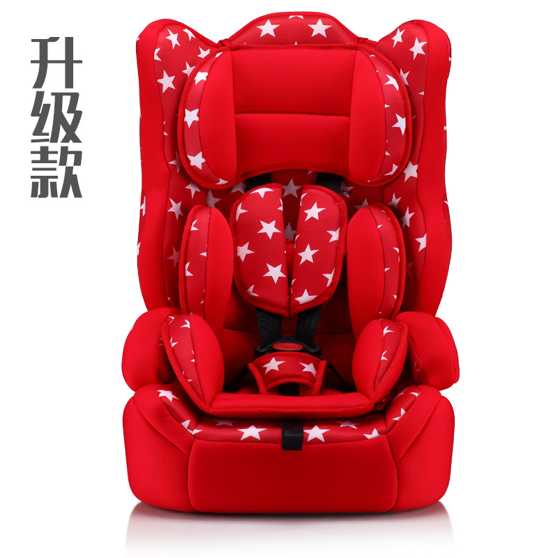 12 colors Child safety seat car seat baby car seat baby seat for 9 months -12 years old children with 3C certification 3 color baby kid car seat child safety car seat children safety car seat for 9 months 12 year old 3c certification