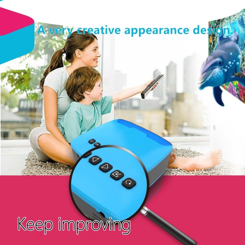 UNIC U20/MY20 Mini projecteur 1080 P pratique projecteur LED Home Cinema AV/HDMI/USB/TF