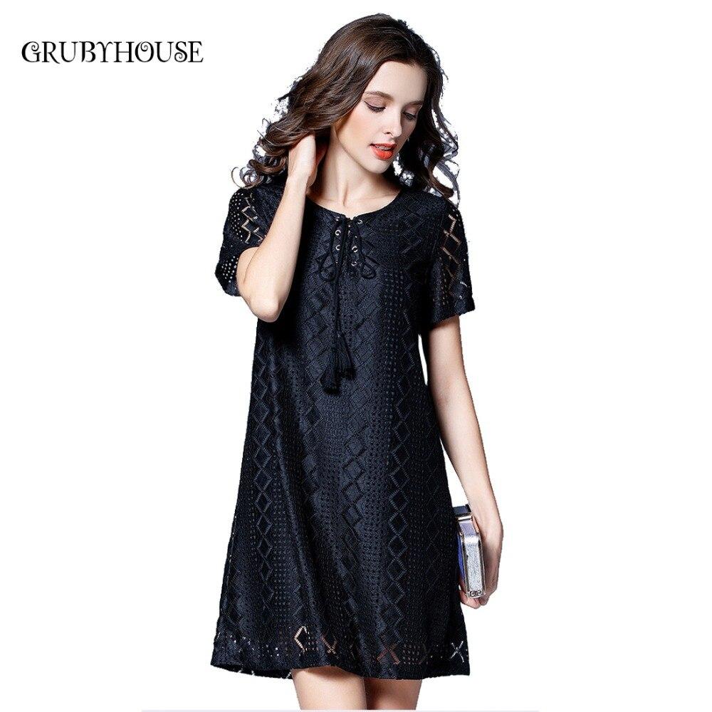 Popular Plus Size Black Tie Dresses-Buy Cheap Plus Size Black Tie ...