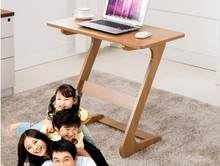 75*40CM Home Laptop desk Lazy Notebook Desk Bedside Writing Table Side table(China)