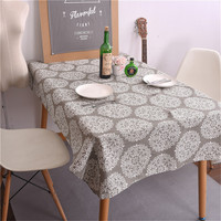 Tablecloth Cotton Linen Rural Square Tablecloths Rectangular Dinner Table Cover Table Cloth Coffee Table Tea Table