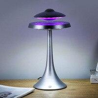 НЛО магнитная левитация bluetooth стерео Беспроводная зарядка продолжайте жизнь НЛО звук беспроводные bluetooth колонки модная лампа