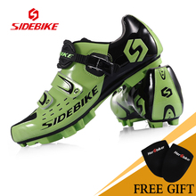 2017 New SIDEBIKE Mountain Road Bike Shoe Triathlon Professional MTB Bike Shoe Ultralight Cycling Shoes Bicycle