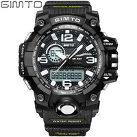 Sport Digital Wrist Watch Men Waterproof Famous Brand Led Electronic Military Army Clock Male Relogio Masculino