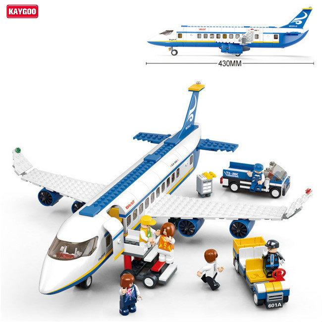 Kaygoo Plane toy  AirBus Model Airplane Building Blocks DIY Bricks Classic Toys DIY Kids Toys Best Kids Christmas Gift solar military transport plane baron p320 jigsaw puzzle building blocks environmental diy toy