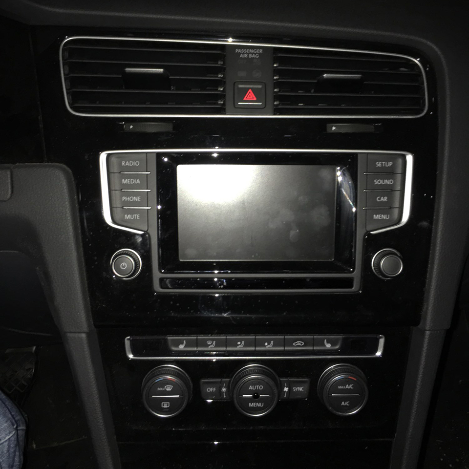 Plug And Play Add Reverse Camera System In Car Park Camera Interface For 2015 Vw Golf 7 Accessories