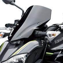 Мотоцикл Высокое качество лобовое стекло ветер экран дым черный экран W/кронштейн аксессуары для Kawasaki Z900
