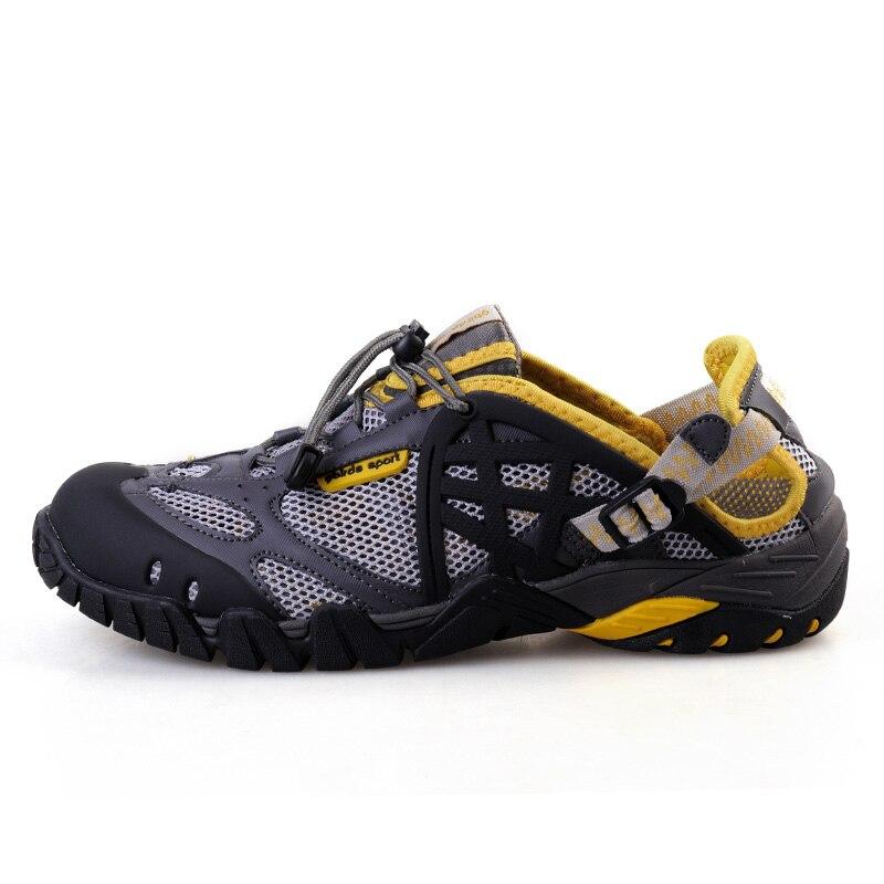 Grande taille En Plein Air Maille Respirant Sport Sandales Hommes Pêche Randonnée Sneaker Hommes Chaussures Aqua Nouvelle Plage Léger Chaussures D'eau