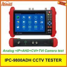 IPC9800ADH 7″ Touch Screen TVI CVI AHD CVBS IP HD 1080P Camera CCTV UTP Tester from asmile