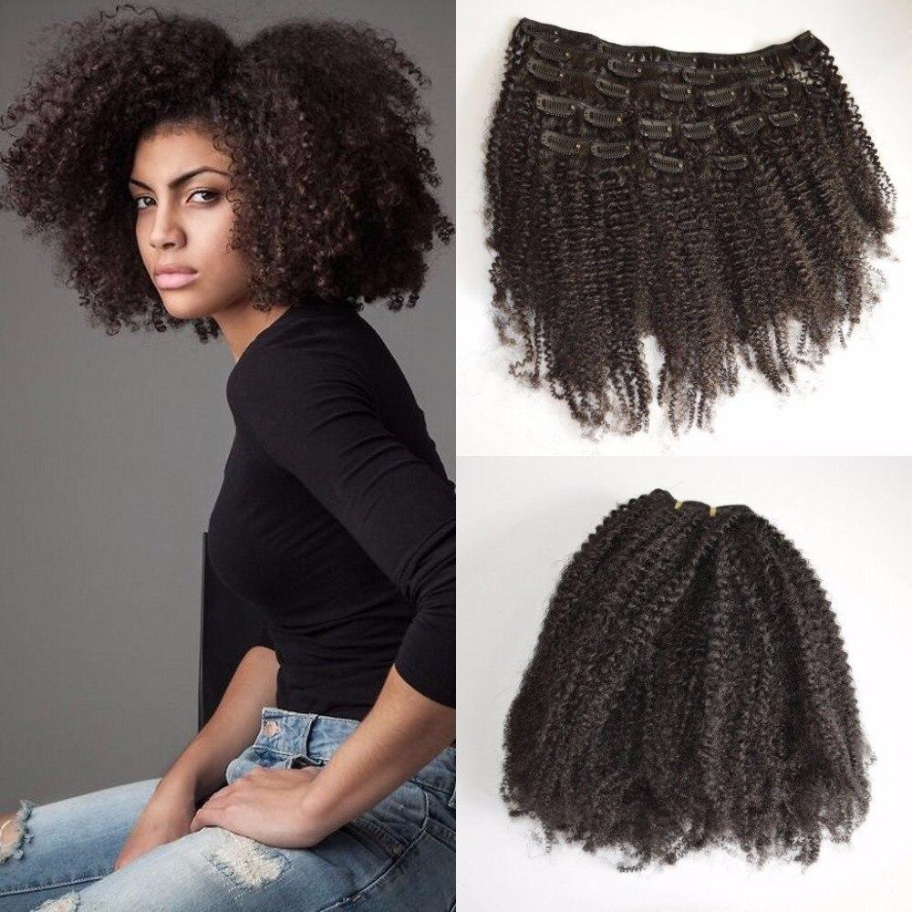 Hot Sale Virgin Mongolian Hair Afro Kinky Curly Hair 3c 4a