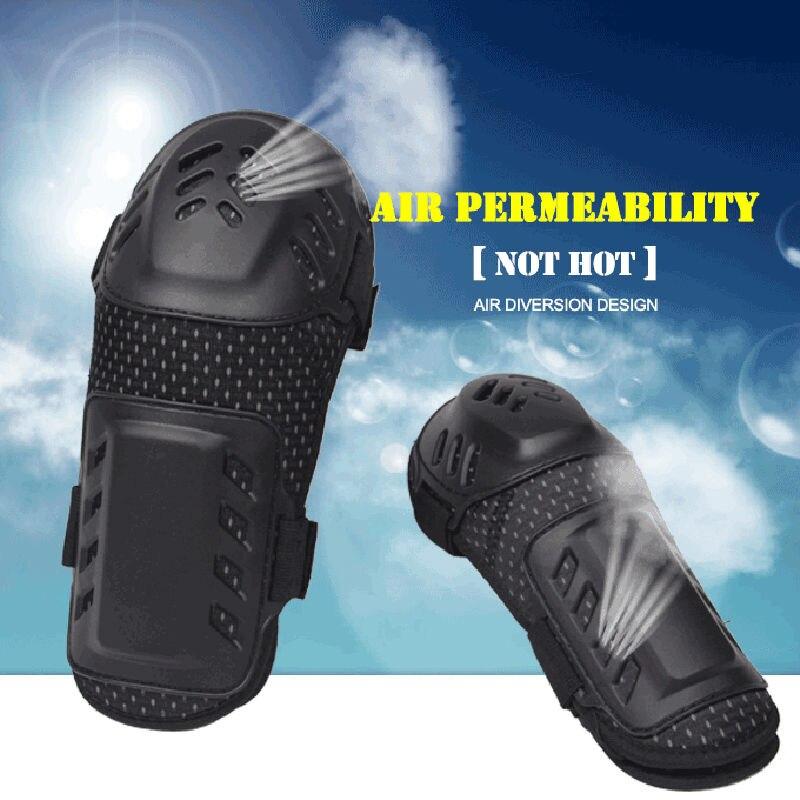 Moto protecteur genou coude dur course armure garde réglable bande élastique - 4