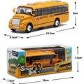 Última gran tamaño escala 1:32 autobús escolar americano kids toys, nuevo estilo de la aleación modelo de coche bus toys for children envío gratis