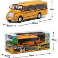 Latest Large Size 1:32 Scale American School Bus Kids Toys, New Style Alloy Bus Car Model Toys for Children Free Shipping