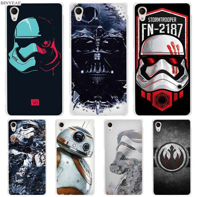 timeless design 1107e bf7ef US $1.84 34% OFF|BINYEAE Star Wars hard Transparent Case Cover Coque for  Sony Xperia z1 z2 z3 z4 z5 m4 aqua m5 XA-in Half-wrapped Case from  Cellphones ...