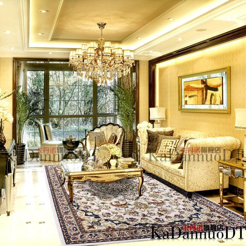 rustic empty living room carpet | Top fashion brief american rustic carpet living room ...
