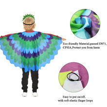 SPECIAL Flying Wing Peacock Costume Dance Show NewbornThemed Garden Animal Girls Kids New Year Cosplay